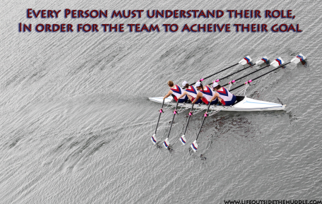 Rowing Role and Team Goal